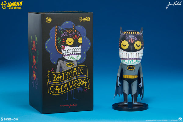 Batman Calavera 8.5-inch vinyl figure by Jose Pulido x Unruly Industries Unruly Industries Vinyl Art Toy Tenacious Toys®