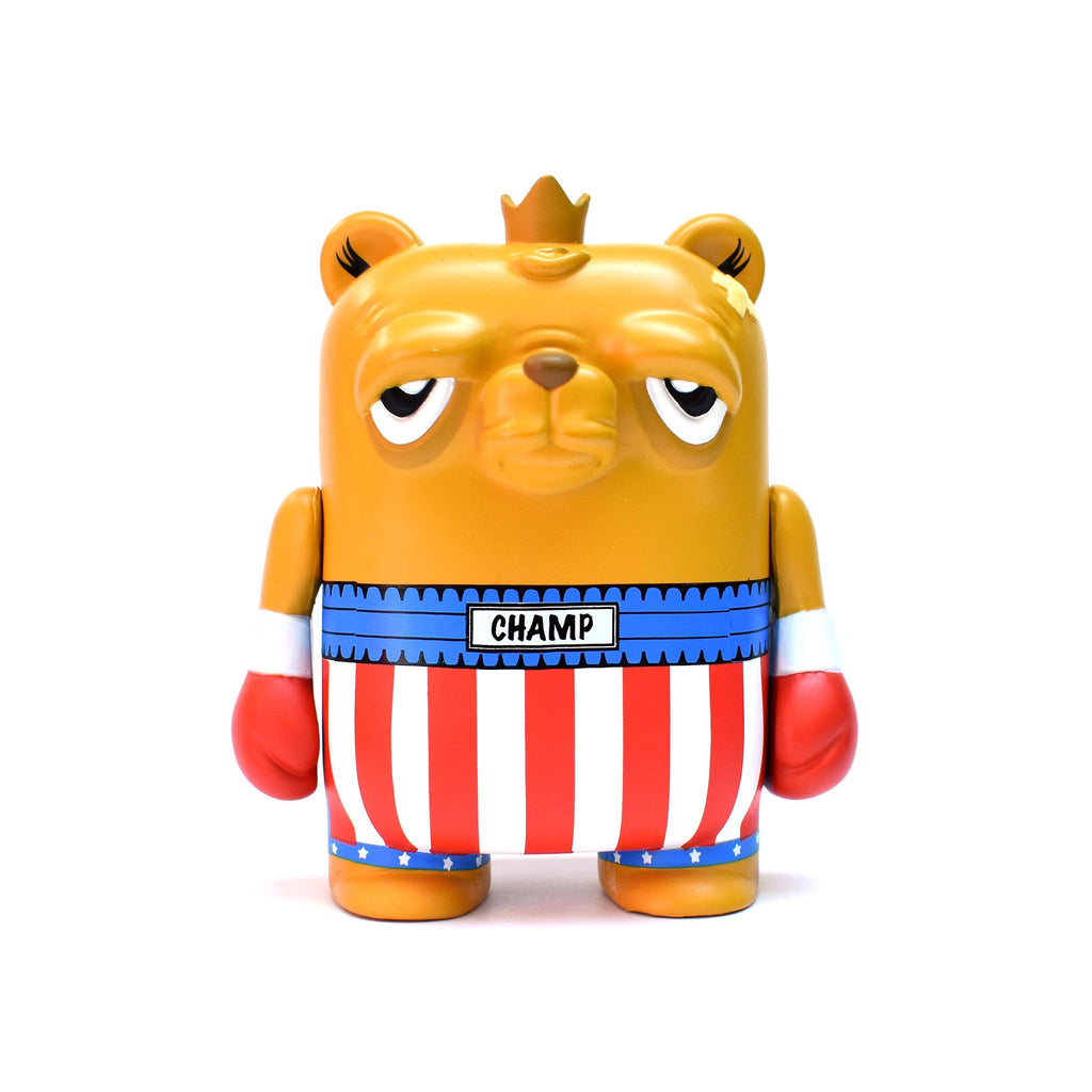"JC Rivera Bearchamp Italian Stallion Edition 4"" Vinyl Figure by UVD Toys UVD Toys Vinyl Art Toy Tenacious Toys®"