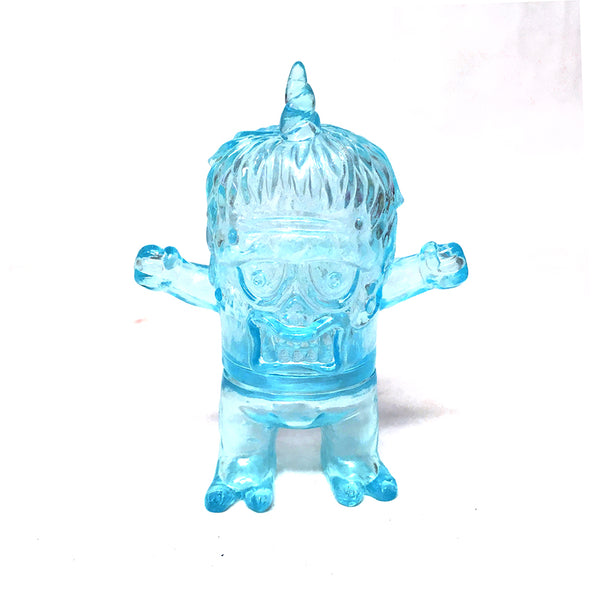 Rampage Toys Uglier Unicorn Blank Clear Blue Sofubi