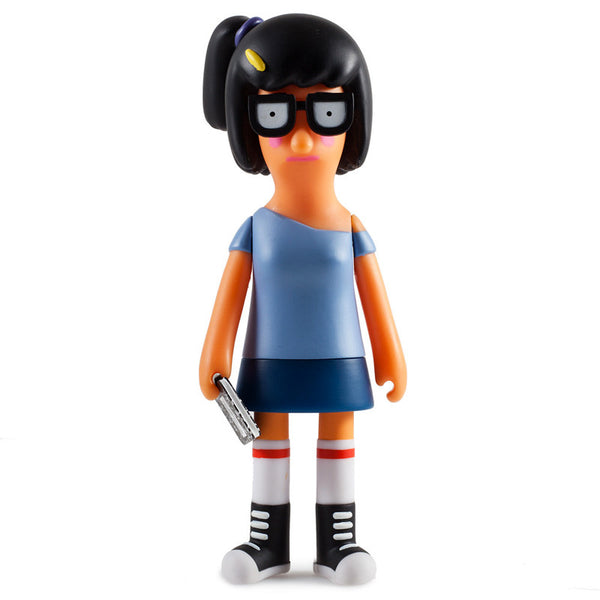 Bobs Burgers Bad Tina Blue Medium Vinyl Figure by Kidrobot - Tenacious Toys® - 1