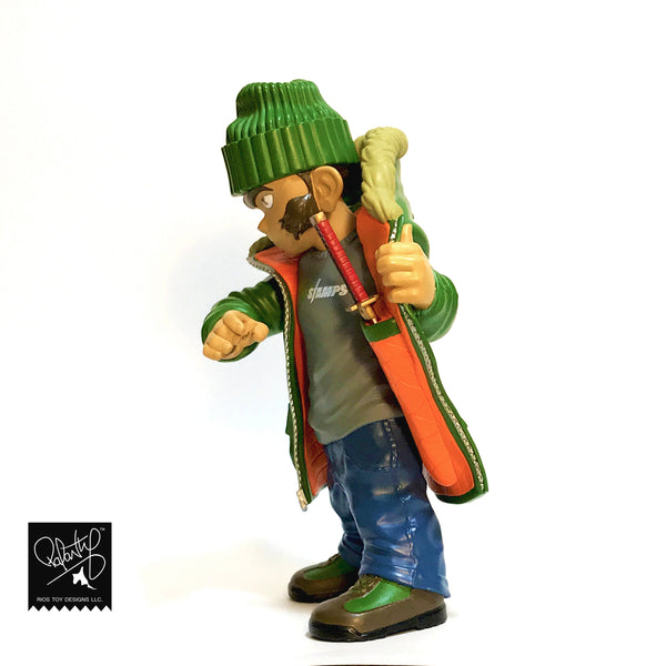 FU-Stamps Bodega Blade 7-inch resin figure Beef N Broccoli edition PREORDER FU-Stamps Resin Tenacious Toys®