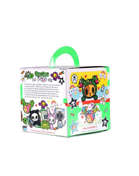 tokidoki Cactus Pets Full Display Case of 16 Blind Boxed Mystery Figures - Tenacious Toys® - 6