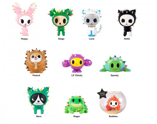tokidoki Cactus Pets Full Display Case of 16 Blind Boxed Mystery Figures - Tenacious Toys® - 2