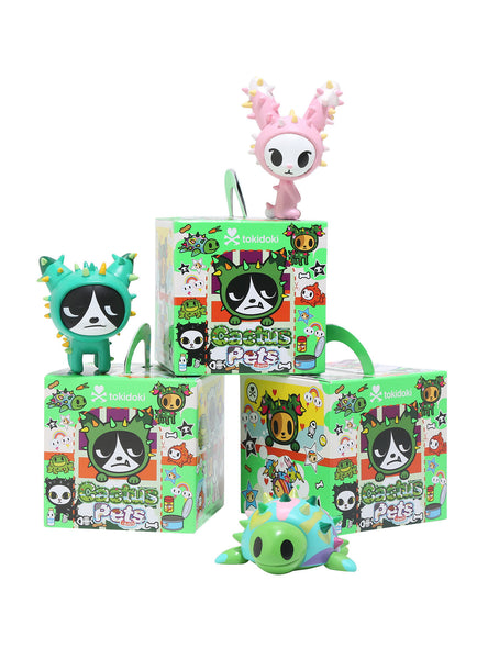 tokidoki Cactus Pets Full Display Case of 16 Blind Boxed Mystery Figures - Tenacious Toys® - 3