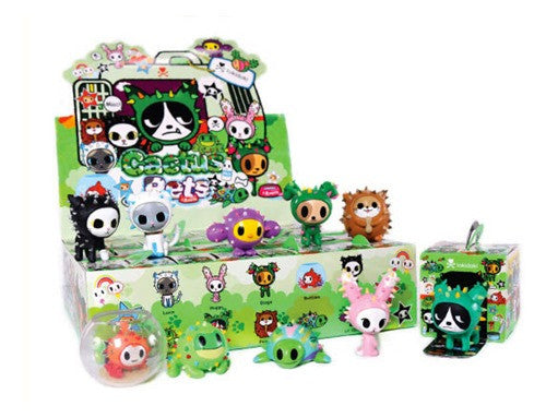 tokidoki Cactus Pets Full Display Case of 16 Blind Boxed Mystery Figures - Tenacious Toys® - 1