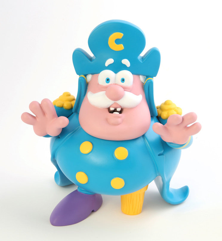 Ron English Cap'n Cornstarch Crunch Berries Edition 9 inch vinyl figure Ron English Tenacious Toys®