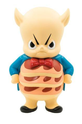 "WB Get Animated Chino Lam Porky Pig 7"" vinyl figure by ToyQube ToyQube Vinyl Art Toy Tenacious Toys®"