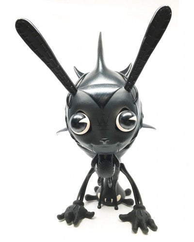 I'm Scared Stair Monsta: Midnight Edition 10-inch vinyl figure by Greg Craola Simkins - Tenacious Toys® - 2