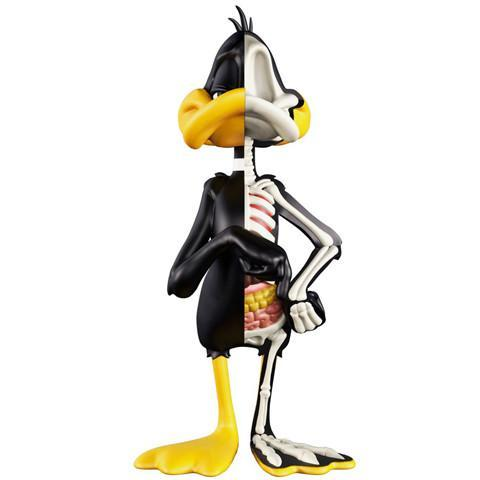 XXRAY Daffy Duck 4-inch PVC figure by Mighty Jaxx