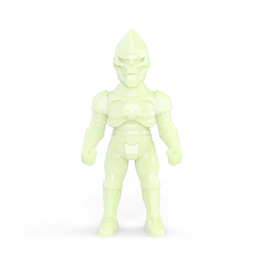 Death Jaguar Unpainted Glow in the Dark Edition by Rocom Toys Rocom Toys Sofubi Tenacious Toys®