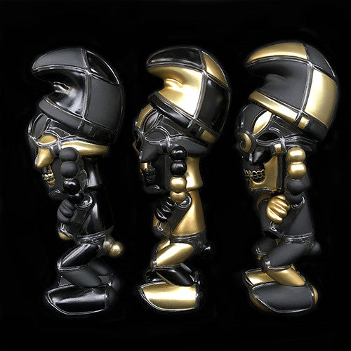 David Flores Deathsead Smurk Stay Gold 3 Piece Set of 7-inch Vinyl Figures - Tenacious Toys® - 2