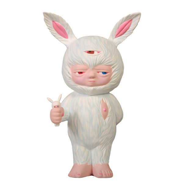 Baby Rabbit by Alex Face Eskimo Edition MightyJaxx Vinyl Art Toy Tenacious Toys®