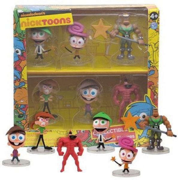 The Fairly OddParents 2-Inch Deluxe Mini-Figure 6-Pack - Tenacious Toys® - 2