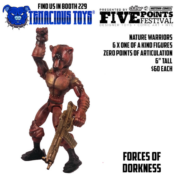 Nature Warriors 6-inch Figures by Forces of Dorkness