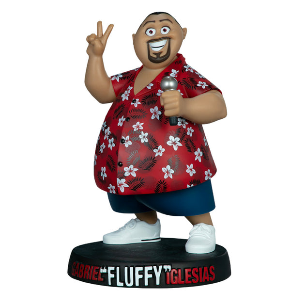 "Gabriel ""Fluffy"" Iglesias 8.75-inch Vinyl Toy by Unruly Industries Unruly Industries Vinyl Art Toy Tenacious Toys®"