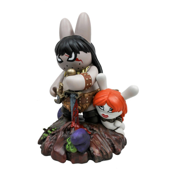 Frazetta Labbit the Barbarian Medium Figure by Kidrobot Kidrobot Tenacious Toys®