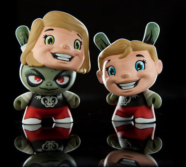 Kidrobot The Odd Ones Dunny Mini Series by Scott Tolleson SEALED CASE PLUS CASE EXCLUSIVE - Tenacious Toys® - 5