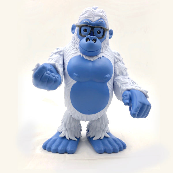 James Groman Gorilla Yeti Edition 8-inch vinyl figure by GoGorilla (NYCC Exclusive) GoGorilla Vinyl Art Toy Tenacious Toys®