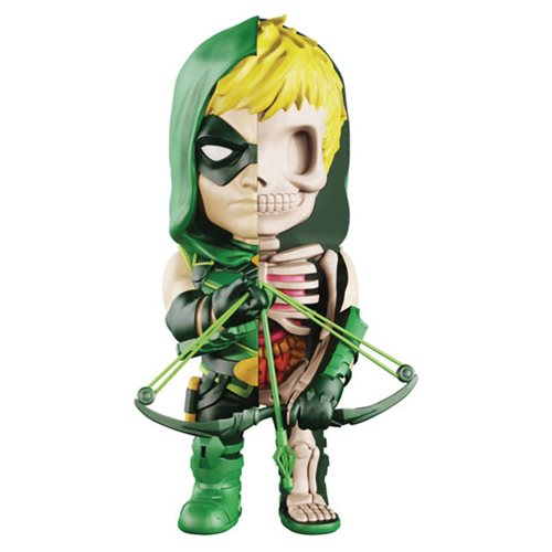 XXRAY DC Green Arrow 4-inch figure by MightyJaxx and Jason Freeny