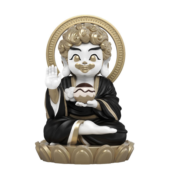 Hambuddha 8-inch vinyl figure by Tik Ka From East Buddcafe Edition by Mighty Jaxx MightyJaxx Vinyl Art Toy Tenacious Toys®