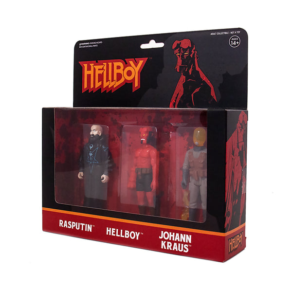 Super7 Hellboy ReAction Action Figure 3-Pack B