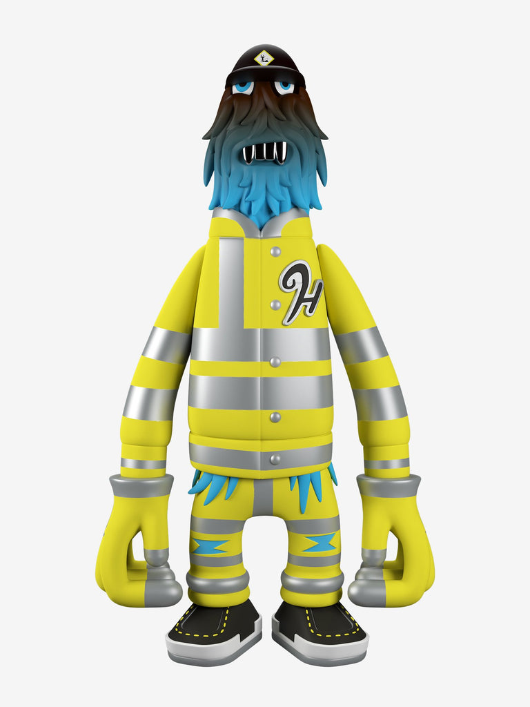 Pete Fowler Hench S.I.T.E. GID edition 9-inch vinyl figure by Superplastic Superplastic Vinyl Art Toy Tenacious Toys®