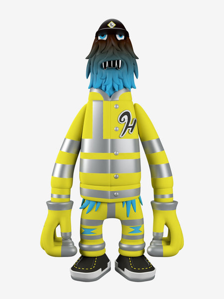 Pete Fowler Hench S.I.T.E. GID edition 9-inch vinyl figure by Superplastic