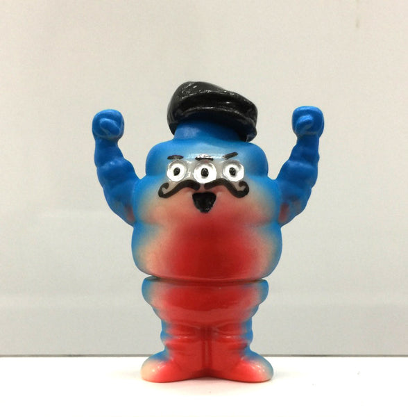 NYCC Exclusive Painted Micro Sofubi by Rampage Toys - Tenacious Toys® - 2