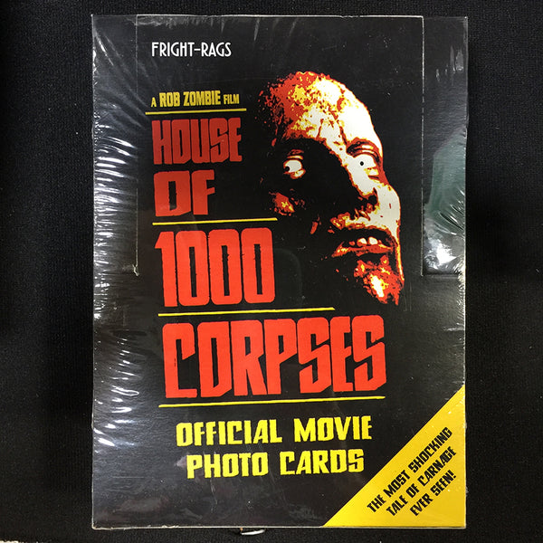 Fright-Rags House of 1000 Corpses Trading Cards Sealed Box Sidekick Labs Trading Cards Tenacious Toys®