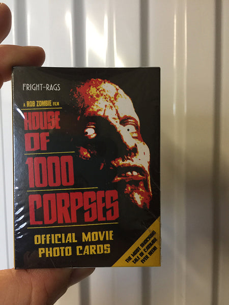 Fright-Rags House of 1000 Corpses Trading Cards Factory Box Set Sidekick Labs Trading Cards Tenacious Toys®