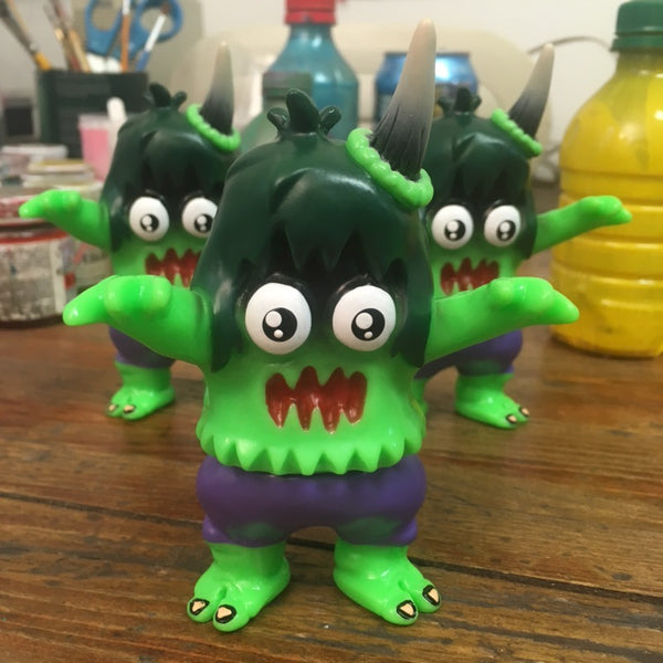 Ugly Hulkicorn 5-inch sofubi by Rampage Toys