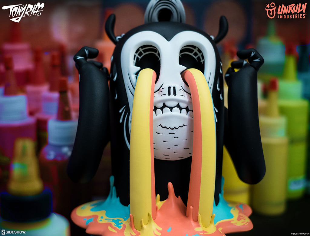 I See Colours 6.5-inch Vinyl Toy by Tony Riff x Unruly Industries Unruly Industries Vinyl Art Toy Tenacious Toys®
