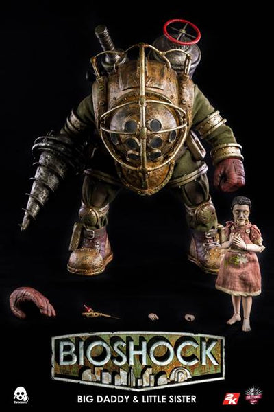 BIOSHOCK Big Daddy & Little Sister 1/6th Scale Collectible Figure Set by ThreeZero PREORDER
