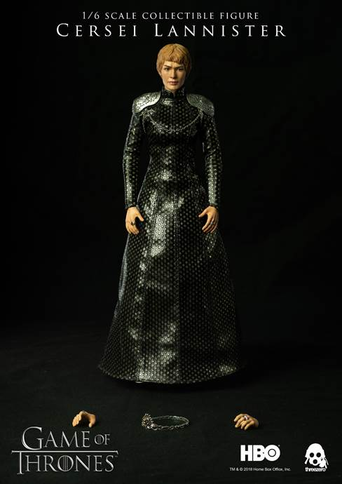 Game of Thrones Cersei Lannister 1/6th Scale Collectible Action Figure by Three Zero PREORDER 3A 3A Tenacious Toys®