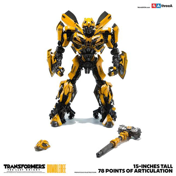 Transformers The Last Knight BUMBLEBEE Premium Scale 15-inch Collectible by Hasbro x ThreeA PREORDER 3A 3A Tenacious Toys®