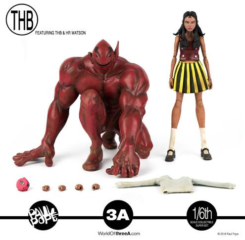 Paul Pope's THB & HR Watson 1/6-scale Collectible Super Set by 3A PREORDER 3A 3A Tenacious Toys®