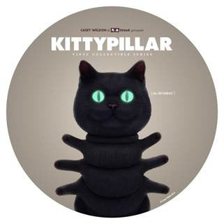 KITTYPILLAR Bombay 8-inch vinyl collectible by Casey Weldon x ThreeA PREORDER - Tenacious Toys®