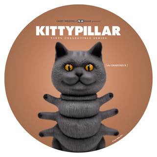 KITTYPILLAR Chartreux 8-inch vinyl collectible by Casey Weldon x ThreeA PREORDER - Tenacious Toys®