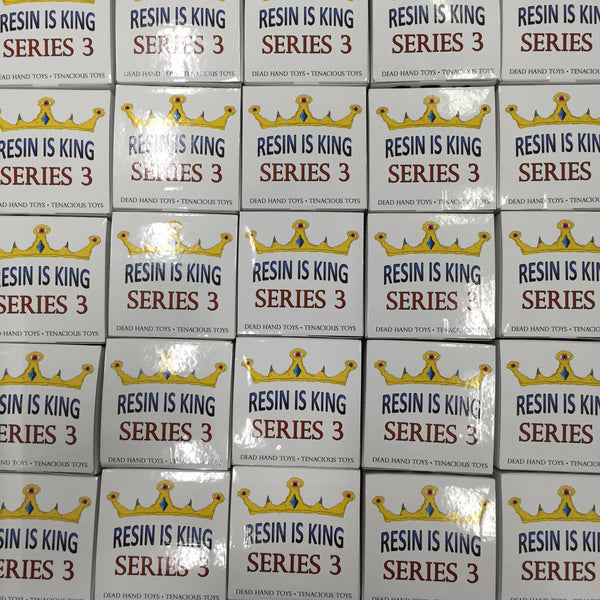 Resin Is King Series 3 Blind Box Mystery Figure - Tenacious Toys® - 3