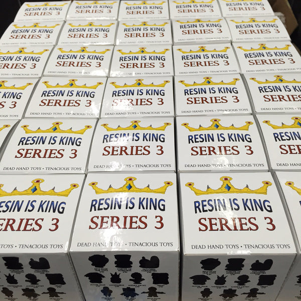 Resin Is King Series 3 Blind Box Mystery Figure - Tenacious Toys® - 4