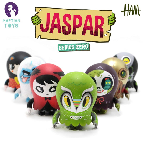 Jaspar Blind Box 3-inch Mini Figure Series Zero by Gary Ham x Martian Toys Martian Toys Vinyl Art Toy Tenacious Toys®
