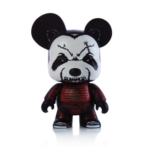 Jon-Paul Kaiser Pandaimyo Fire Clan Red Mini Qee by Toy2R - Tenacious Toys® - 1