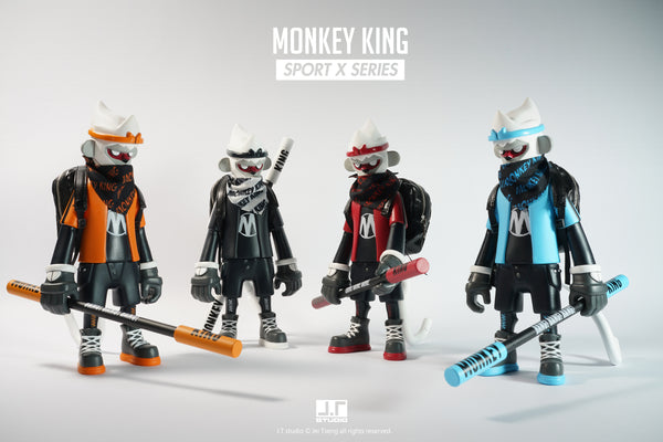Monkey King Sport X Series 8-inch vinyl set of 4 action figures by JT Studio