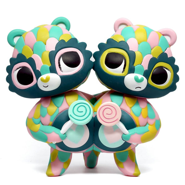 Kidrobot Share Bear 6.5-inch Medium Vinyl Figure by Horrible Adorables Kidrobot Kidrobot Tenacious Toys®