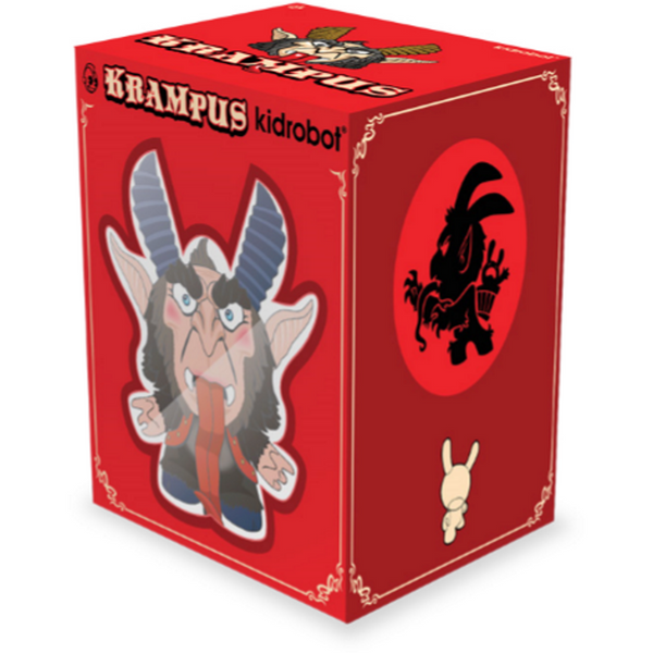 Kidrobot Krampus 5-inch Dunny by Scott Tolleson & SeriouslySillyK Standard Brown Colorway Kidrobot Kidrobot Tenacious Toys®