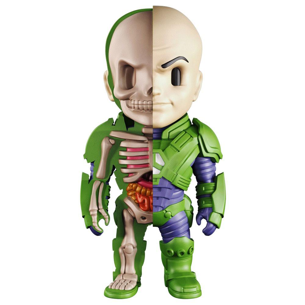 XXRAY DC Lex Luthor 4-inch figure by MightyJaxx and Jason Freeny MightyJaxx Vinyl Art Toy Tenacious Toys®