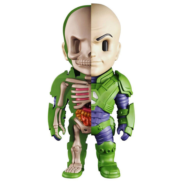 XXRAY DC Lex Luthor 4-inch figure by MightyJaxx and Jason Freeny