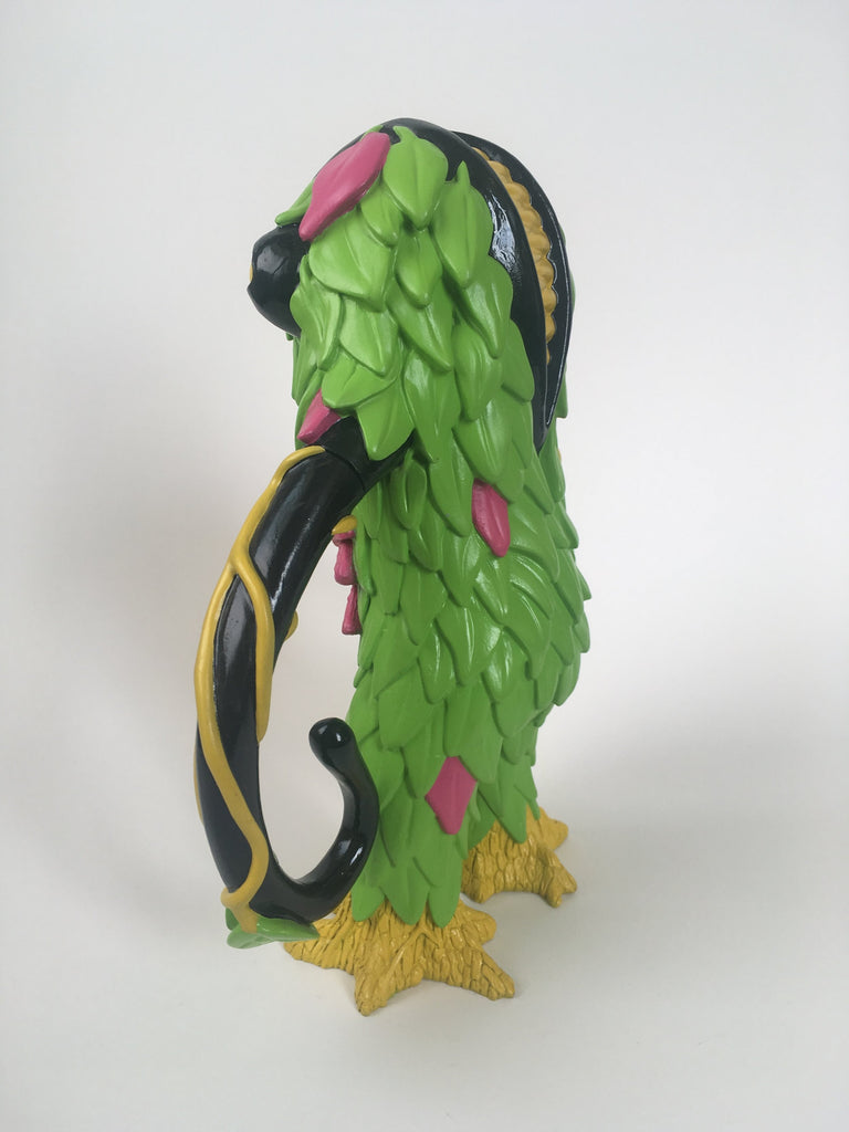 Trash Bag Bunch XL Liceplant Green 9-inch vinyl figure by Last Resort Toys Last Resort Toys Vinyl Art Toy Tenacious Toys®