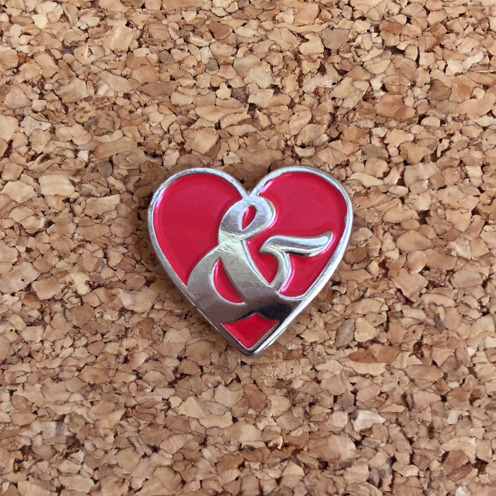 Love & Warren Icon Soft Enamel Pin Love & Warren Pin Tenacious Toys®