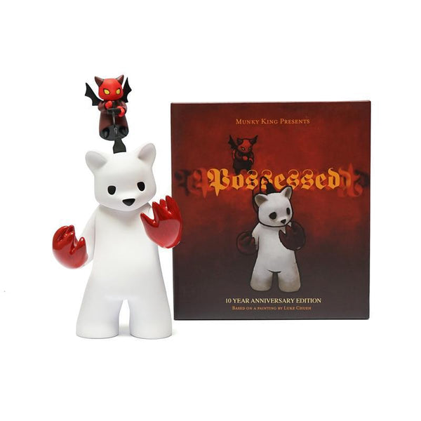Luke Chueh Possessed 10th Anniversary 9-inch vinyl figure by Munky King PREORDER